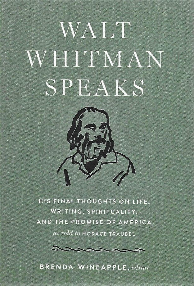 'Walt Whitman Speaks' -book cover
