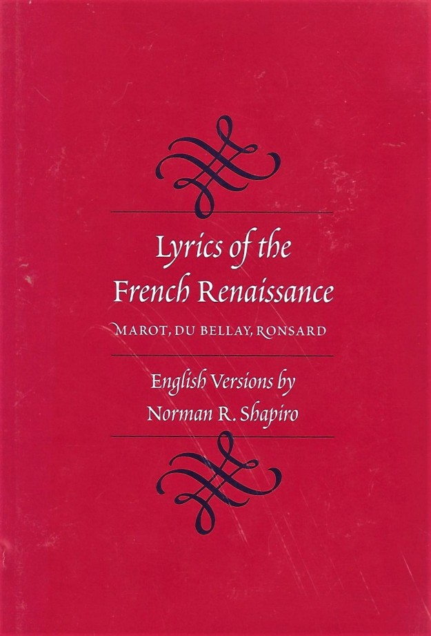 cover - Lyrics of the French Renaissance