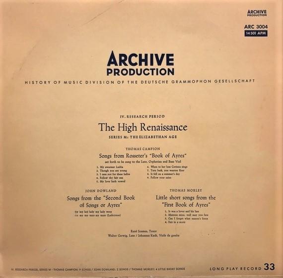 cover - Elizabethan LP