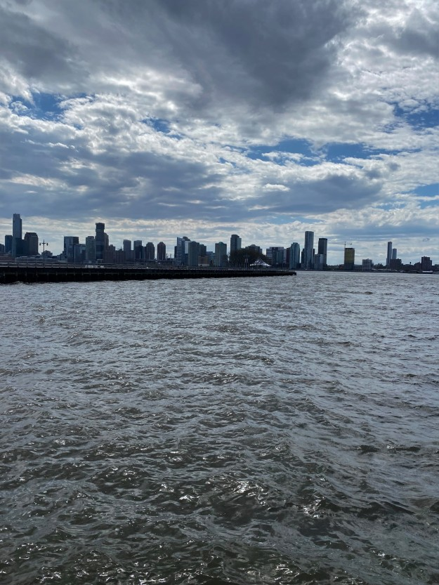 Hudson River 2-52 p.m. 5-4-2020