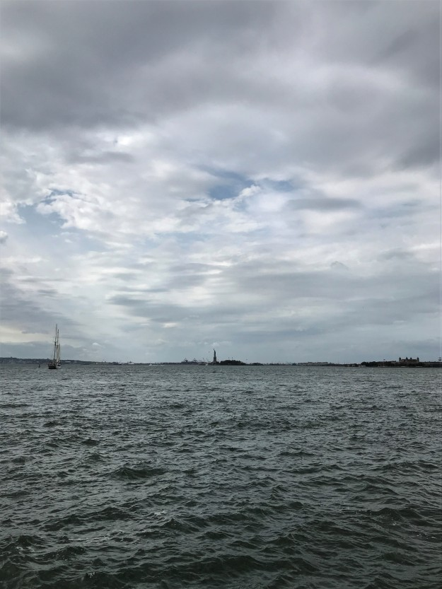 New York Harbor 11-42 a.m. 10-7-2019